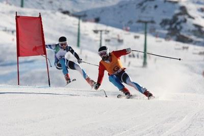 Esquí para ciegos
