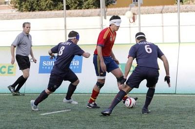 Fútbol para ciegos
